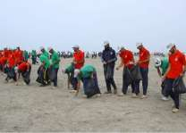 Beach Cleaning Campaign At Seaview Karachi