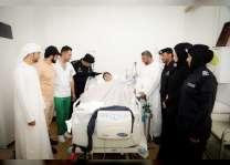 شرطة أبوظبي تحيي اليوم العالمي للعمل الإنساني بتوزيع الهدايا على المرضى