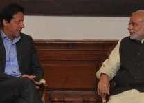 رئیس الوزراء الھندي یھنئی عمران خان علي انتخابہ کرئیس الوزراء الباکستاني