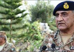 COAS Bajwa lauds armed forces' role in general elections