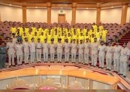 تخريج الدورة الصيفية للطلبة المُبتعثين في شرطة دبي