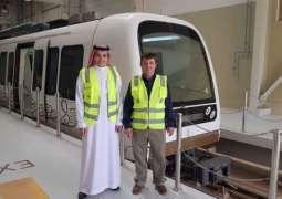 هيئة النقل العام تتفقد قطار جامعة نورة استعدادا للعام الدراسي الجديد