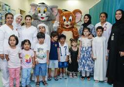 DCT brings excitement to children at Sheikh Khalifa Medical City