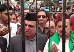 Sindh Governor-designate Imran Ismail 'denied access' to Quaid's mausoleum
