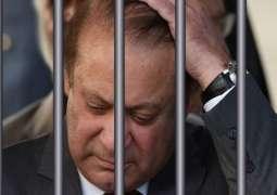 Nawaz Sharif celebrates Independence Day in jail