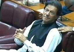 Imran Khan in tears of joy as vote count announced