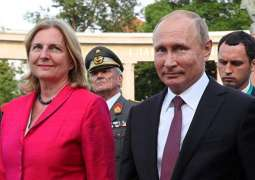 Austrian Foreign Minister Plans to Hold Talks With Putin at Her Wedding - Reports