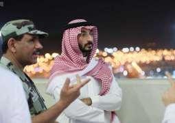 نائب أمير منطقة مكة المكرمة يواصل جولاته التفقدية لعدد من الجهات بالمشاعر المقدسة