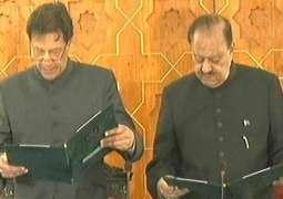 Prime Minister Imran Khan takes oath