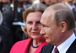 Putin to Attend Austrian Foreign Minister's Wedding in Styria on Saturday