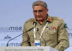 آرمی چیف جنرل قمر جاوید باجوہ دی افغانستان وچ پرتشدد کارروائیاں اُتے تشویش
