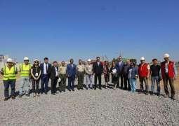 وضع حجر الأساس لمبنى مجمع بعثة الإمارات فى كازاخستان