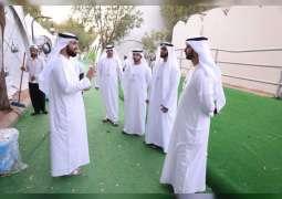 """بعثة الحج الرسمية لحكومة دبي تتأكد من جاهزية الخيام ومستلزماتها في """"منى وعرفة ومزدلفة"""""""