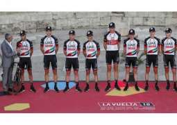 UAE Team Emirates launches Vuelta a Espana Campaign with encouraging time trial results
