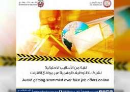 ADP warns job seekers outside UAE about fake recruitment companies