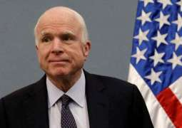 McCain's Farewell Statement Warns Against US 'Hiding Behind Walls'