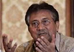 پرویز مشرف دا اک وار فیر عدالت وچ پیش ہون توں انکار