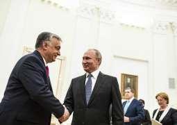Kremlin Confirms Putin to Meet With Hungarian Prime Minister on September 18