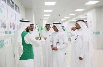 فرع وزارة العمل والتنمية الاجتماعية بمنطقة مكة يزور جمعية