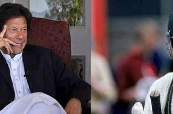 Australian cricketer Allan Border felicitates Imran Khan over polls victory