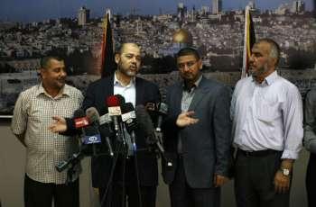 وفد حرکة الحماس یلتقي الأحزاب الفلسطینیة الأخري في قاھرة