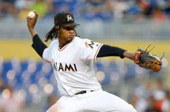 Marlins pitcher Urena suspended 6 games for hitting Acuna