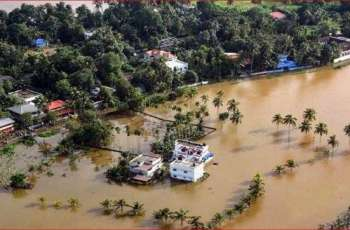 Death Toll in Floods in Indias Kerala State Rises to 167 - Reports