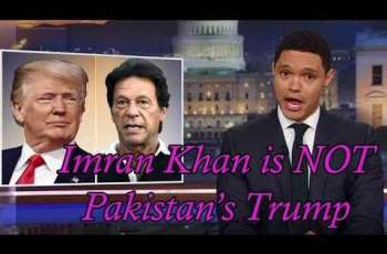 Imran Khan is NOT Pakistan's Trump: Junaid Akram hits back at Trevor Noah