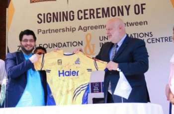Zalmi Foundation, UNIC signs 'partnership agreement' on SDGs