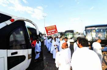 ضيوف الرحمن يغادرون المدينة المنورة لأداء مناسك الحج بعد أدائهم صلاة الجمعة مثمنين جهود المملكة الرائدة في خدمتهم