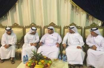 سعيد بن طحنون يعزي في وفاة علي عبد الرحمن الهرمودي