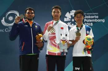 Chinese hotshot Yang bags second Asian Games medal