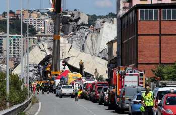 Italy Considers Nationalization of Genoa Collapsed Bridge Operator - Interior Minister