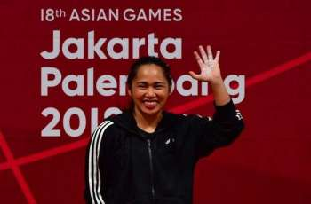 Weightlifter Diaz wins first Asian Games gold for Philippines