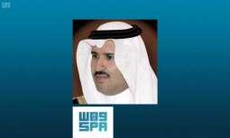 الأمير فيصل بن سلمان يُهنئ سمو وزير الداخلية بنجاح موسم الحج