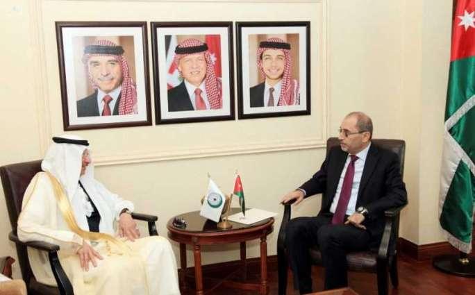 الدكتور العثيمين يزور الأردن ويلتقي وزراء الخارجية والتنمية الاجتماعية والثقافة