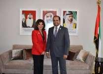 سفير الدولة لدى لبنان يستقبل عضو مجلس الشيوخ الفرنسي
