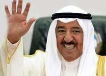 وصل أمیر کویت الي الولایات المتحدة الأمریکة
