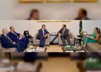 """سفير الدولة يستقبل مدير عام """"الأونروا"""" في لبنان"""