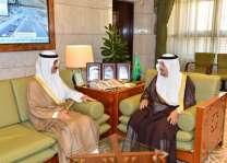 أمير الرياض يستقبل سفير دولة الكويت