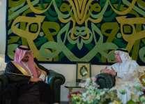 وزير الدولة للشؤون الخارجية يستقبل سفير مملكة البحرين لدى المملكة