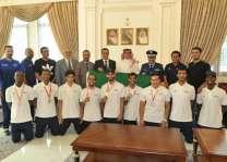 القائم بأعمال سفارة المملكة في لبنان يكرّم منتخب القوات المسلحة السعودية للتايكوندو
