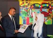 افتتاح معرض للفن التشكيلي ضمن اسبوع الفن الإماراتي - الصربي في بلجراد