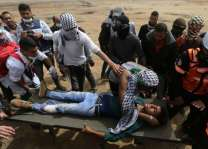 شهيدان و عشرات الجرحى برصاص الاحتلال الاسرائيلي في غزة