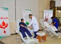 أمير منطقة حائل يدشن حملة التبرع بالدم