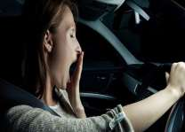 Sleep deprived people more likely to have car crashes