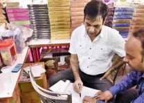 District magistrate raids shops, fines several for selling substandard goods
