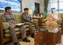 أمير الرياض يستقبل مدير عام السجون