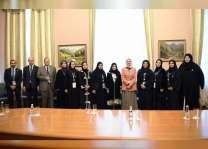 أمل القبيسي والأمين العام للمجلس الأعلى للمرأة في البحرين يبحثان تعزيز العلاقات الثنائية