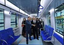 وصول أول القطارات الجديدة لمترو دبي نوفمبر المقبل
